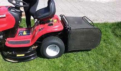 ima bac ramassage tracteur tondeuse